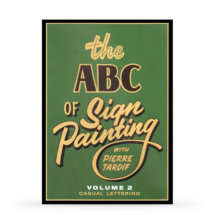 DVD: The ABC of Sign Painting by Pierre Tardif : Volume 2