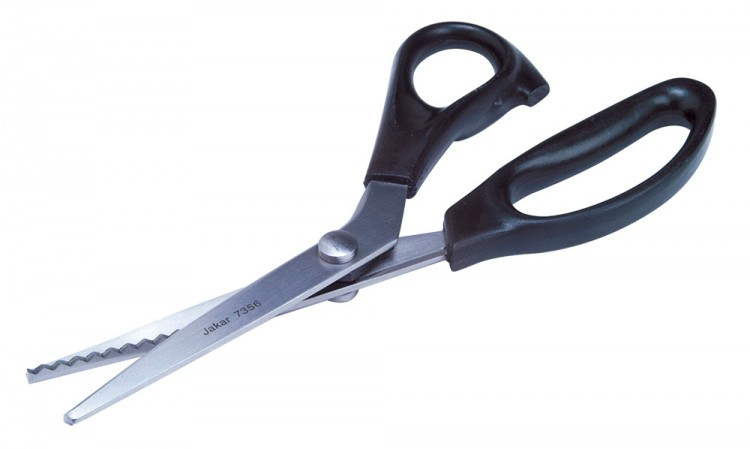 Jakar : Stainless Steel Pinking Shear Scissors : 23cm