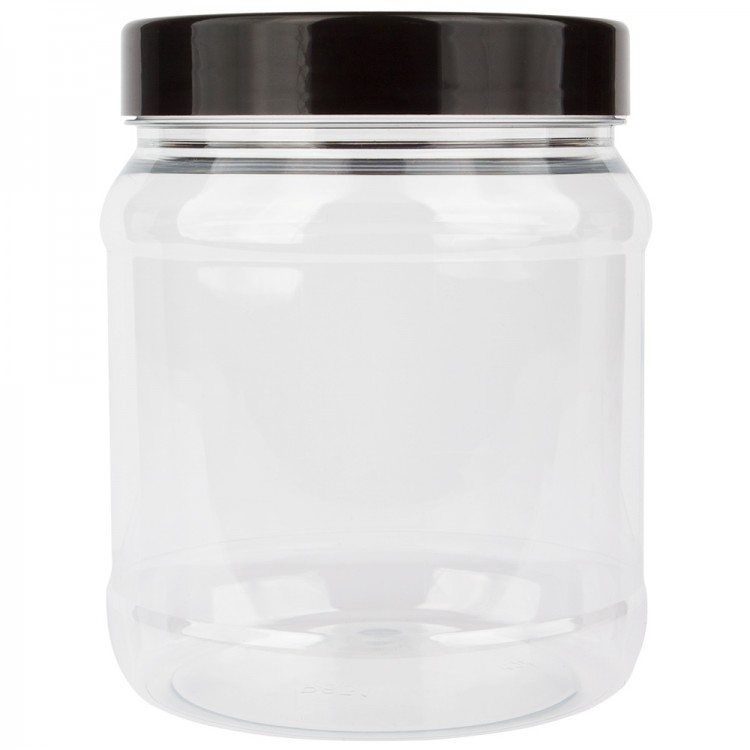 JAS : Empty Plastic Screw Top Jar : 1000ml