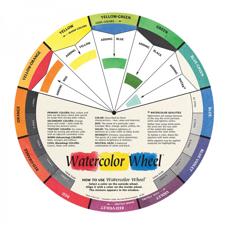 Color Wheel Company : WaterColor Color Wheel
