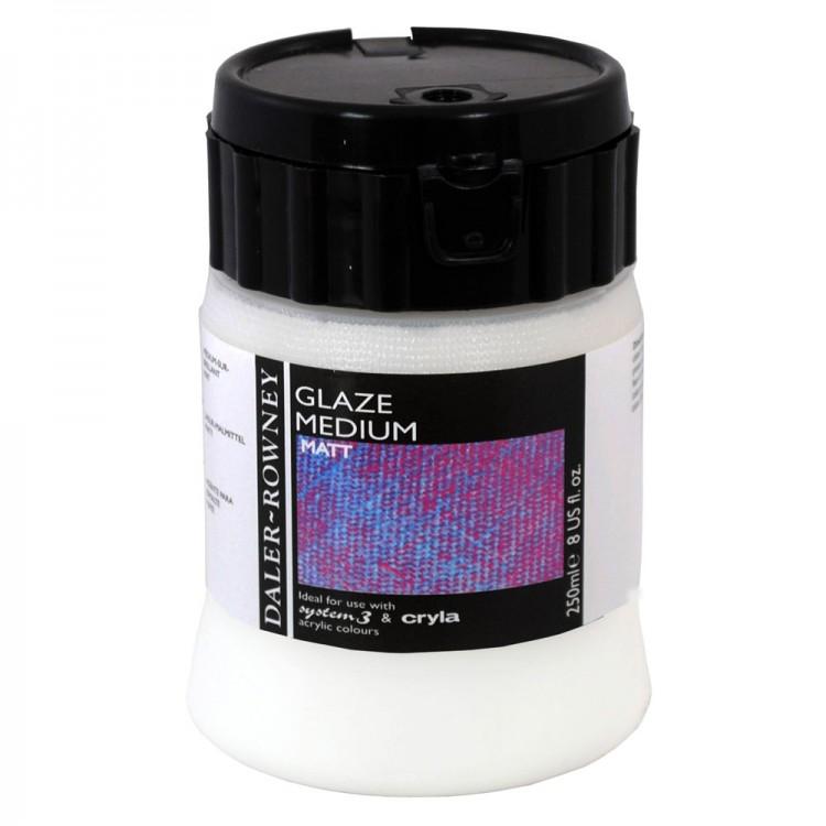 Daler Rowney : Acrylic Medium : Glaze Medium : 250ml : Matt