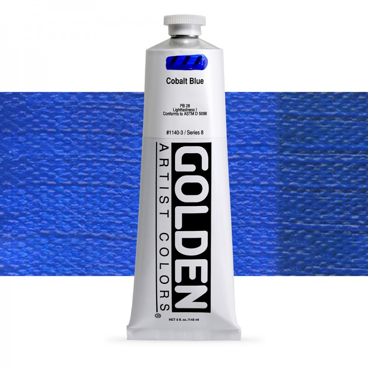 Golden : Heavy Body Acrylic Paint : 150ml : Cobalt Blue