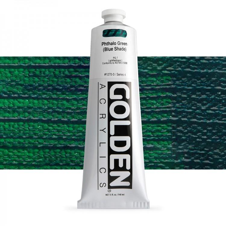 Golden : Heavy Body Acrylic Paint : 150ml : Phthalo Green Blue Shade
