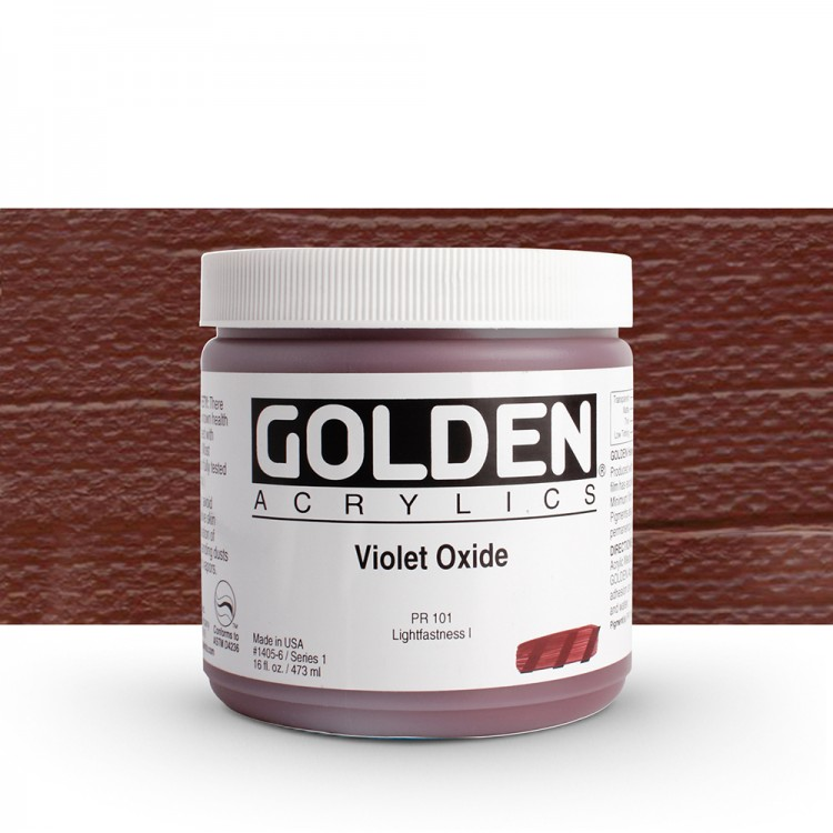 Golden : Heavy Body Acrylic Paint : 473ml : Violet Oxide