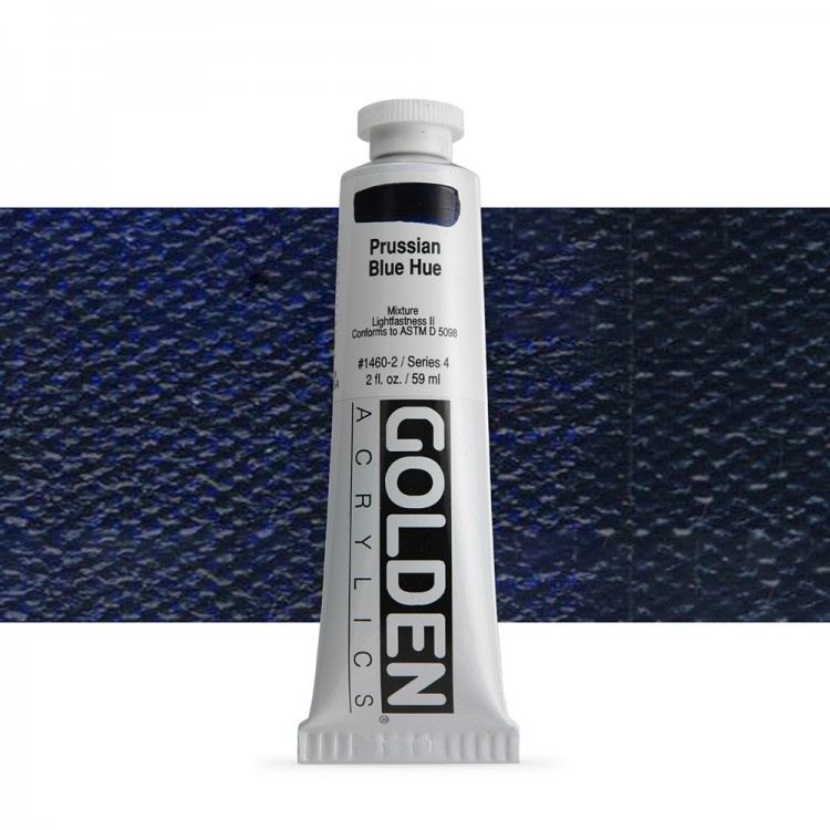 Golden : Heavy Body Acrylic Paint : 60ml : : Prussian Blue Hue