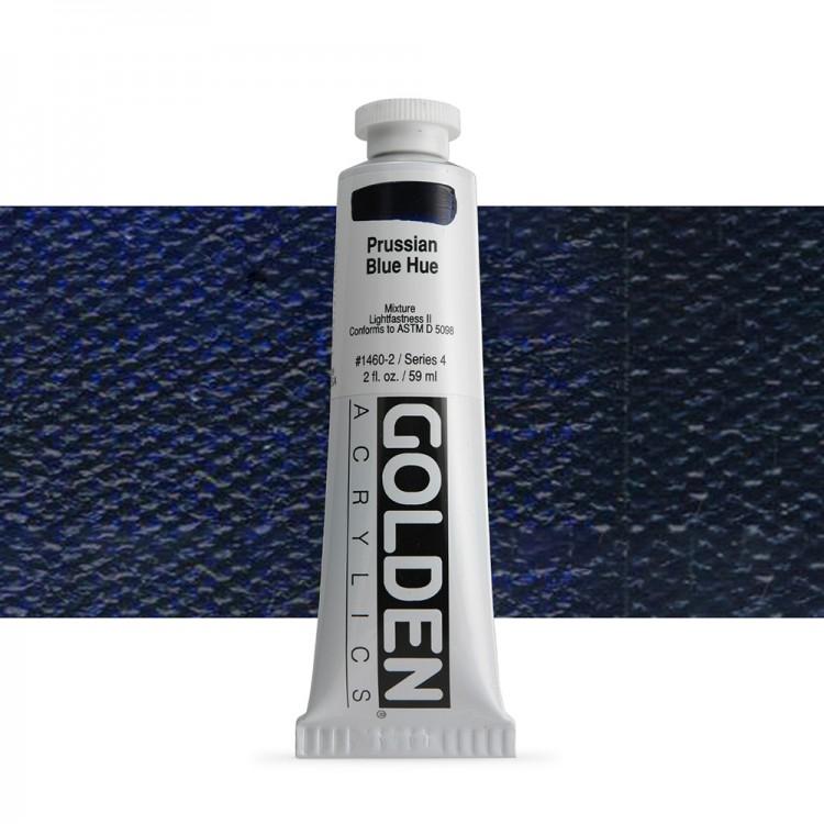 Golden : Heavy Body Acrylic Paint : 60ml : : Prussian Blue Hue