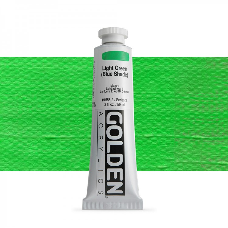 Golden : Heavy Body Acrylic Paint : 60ml : Light Green Blue Shade