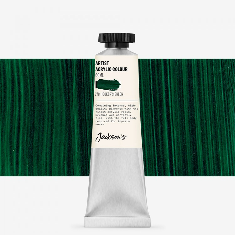 Jackson's : Artist Acrylic Paint : 60ml : Hookers Green