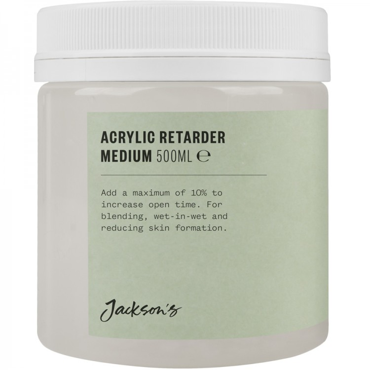 Jacksons : Acrylic Retarder Medium : 500ml