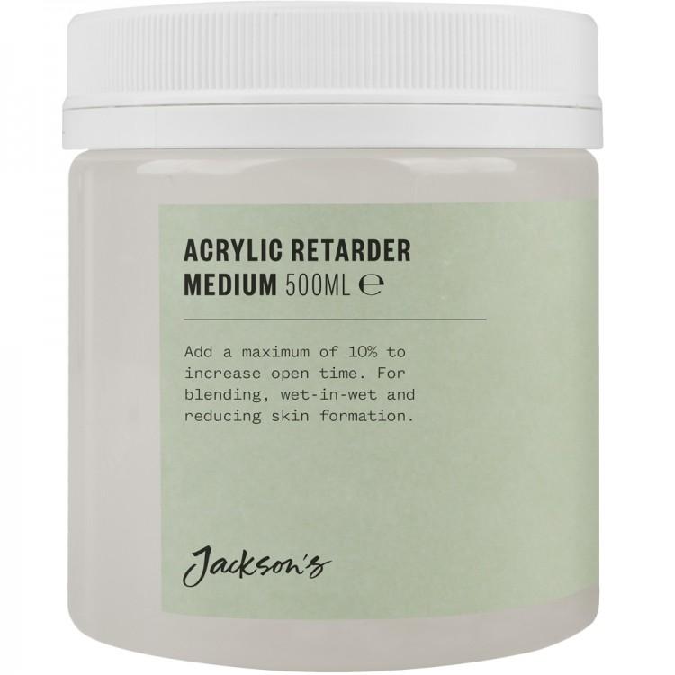 Jacksons : Acrylic Retarder Medium : 500ml