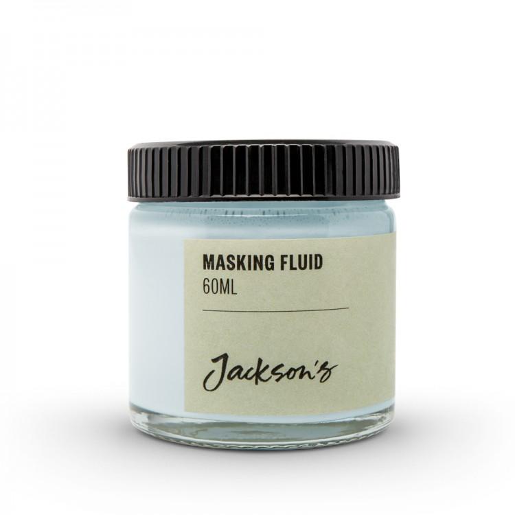 Jackson's : Masking Fluid : 60ml : Blue