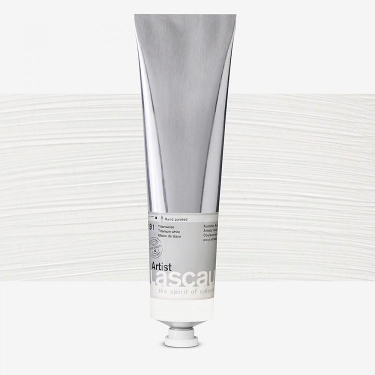 Lascaux : Artist Acrylic Paint : 200ml : Titanium White