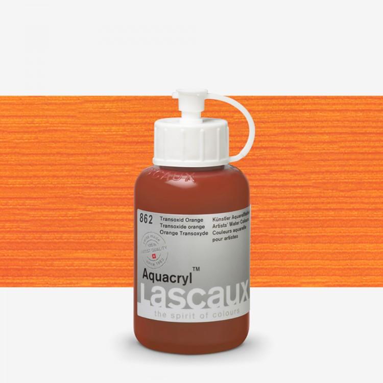 Lascaux : Aquacryl : Artists' Watercolour Paint : 85ml : Transoxide Orange