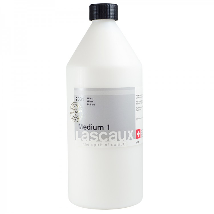 Lascaux : Medium 1 : 1 Litre : Gloss