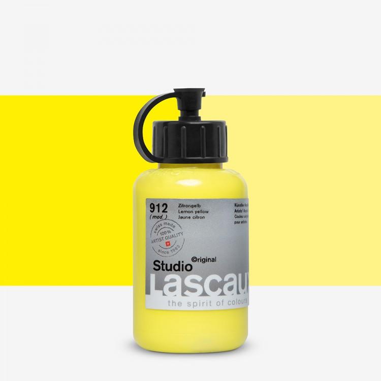 Lascaux : Studio : 85ml : Lemon Yellow