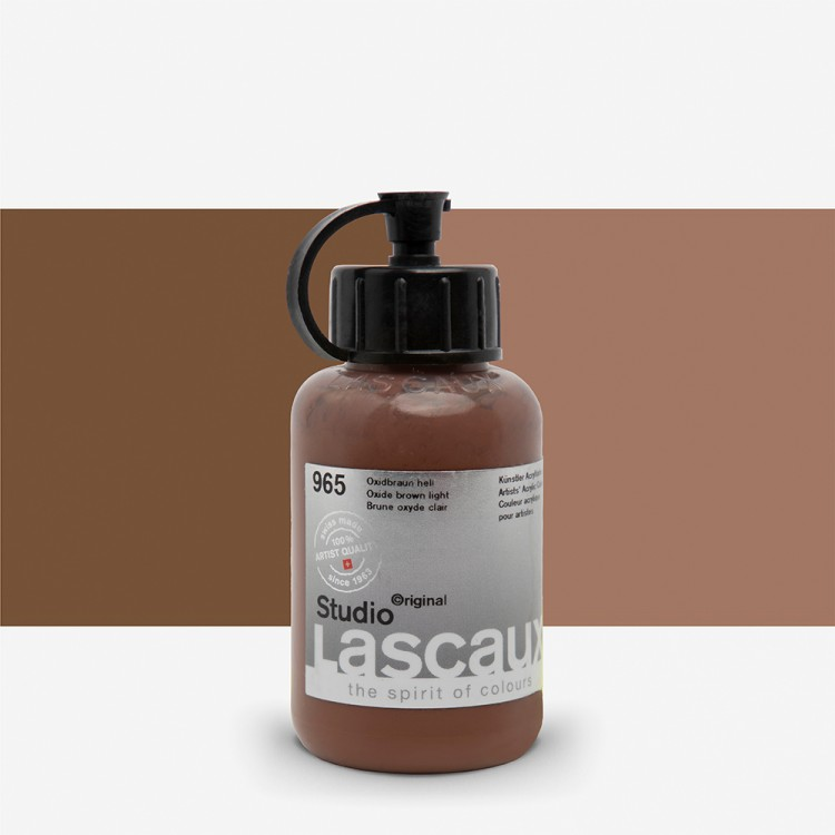 Lascaux : Studio : 85ml : Oxide Brown Light