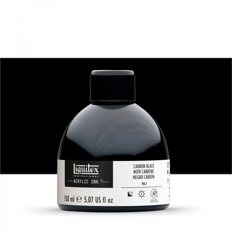 Liquitex : Professional : Acrylic Ink : 150ml : Carbon Black