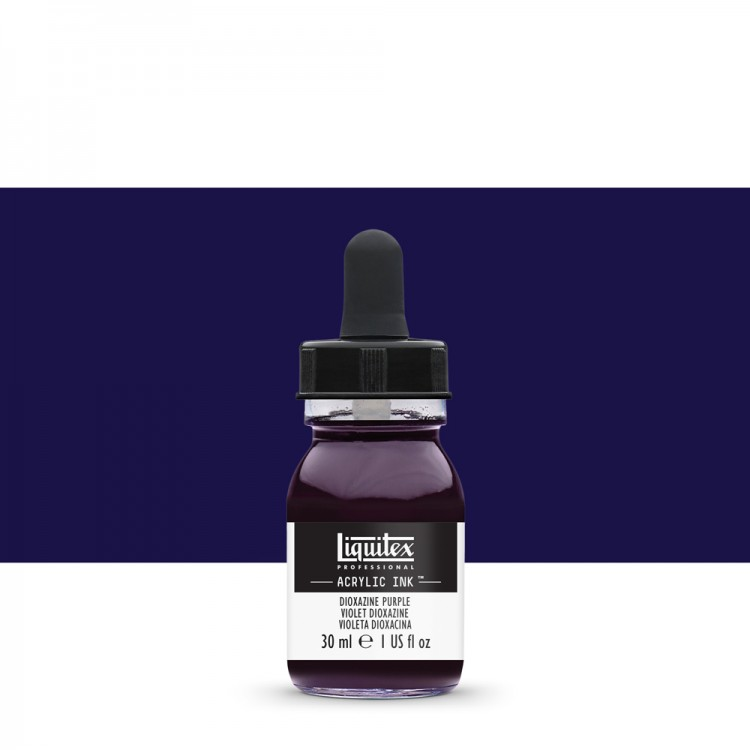 Liquitex : Professional : Acrylic Ink : 30ml : Dioxazine Purple