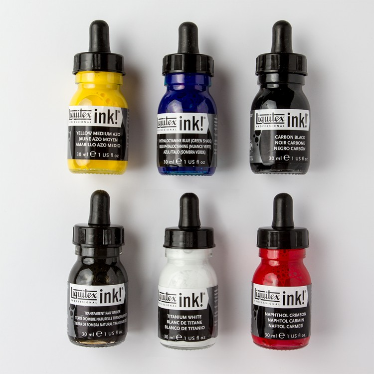 Liquitex : Professional : Acrylic Ink : Essentials Set