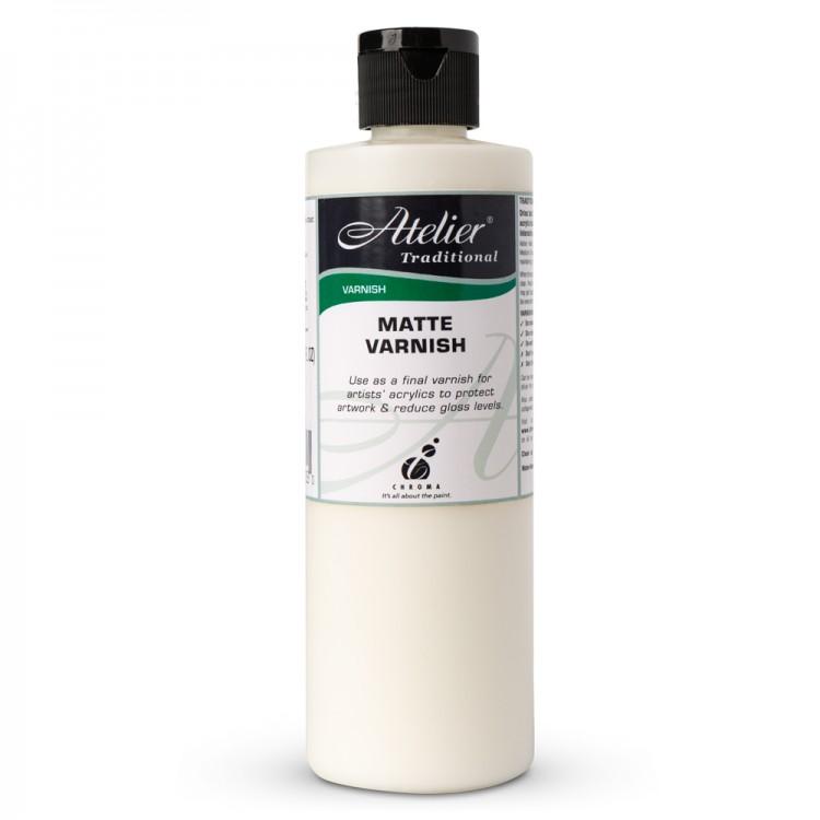 Atelier : Acrylic Medium : 250ml : Varnish : Matte
