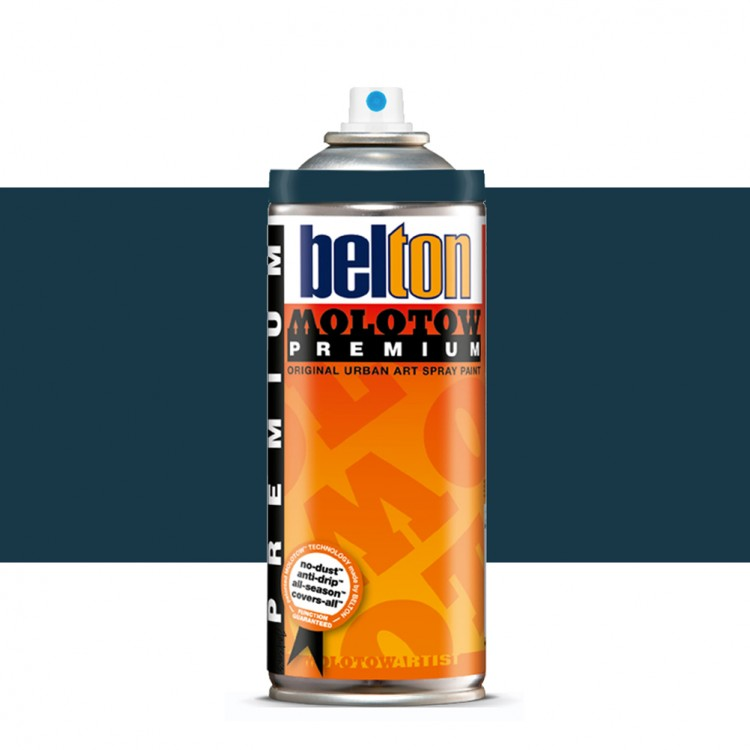 Molotow : Belton Premium Spray Paint : 400ml : Deep-Sea Blue 108 : Ship By Road Only