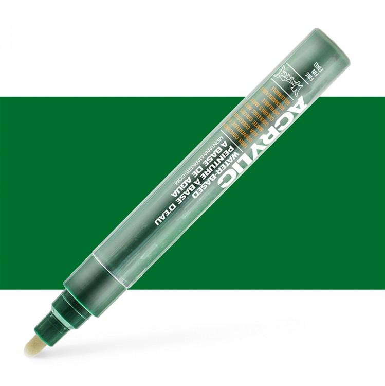 Montana : Acrylic : Marker : 2mm : Shock Green Dark