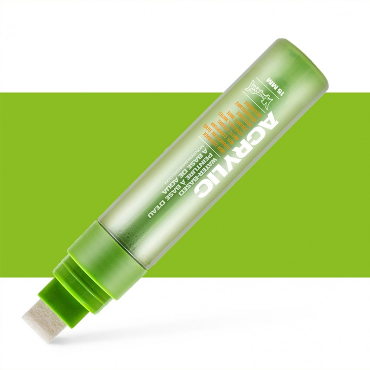 Montana : Acrylic : Marker : 15mm : Shock Green Light