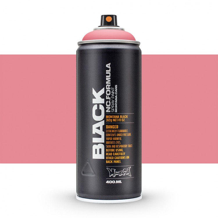 Montana : Black : 400ml : Pink Leade : By Road Parcel Only