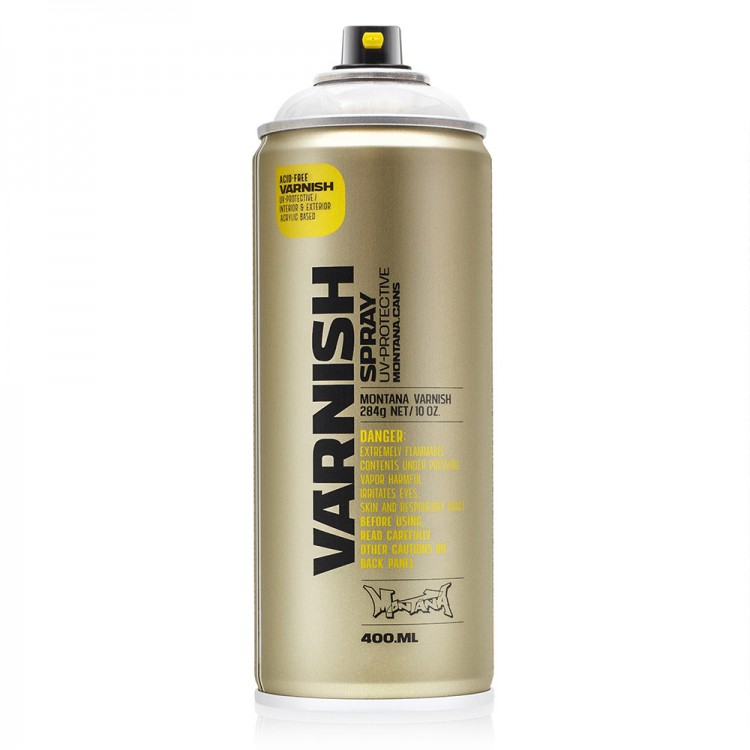 Montana : Tech Spray : Varnish : 400ml : Matte : By Road Parcel Only