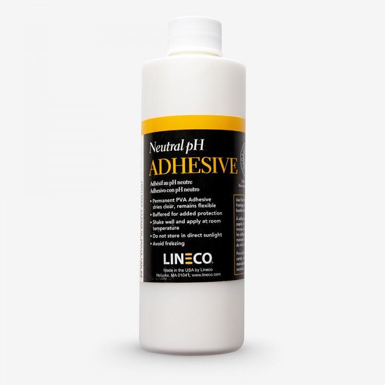 Lineco : White Neutral PH PVA Adhesive : 8oz