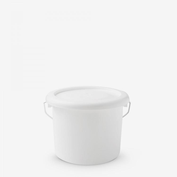 Handover : Plastic Paint Kettle with Lid : Metal Handle : 1 Litre