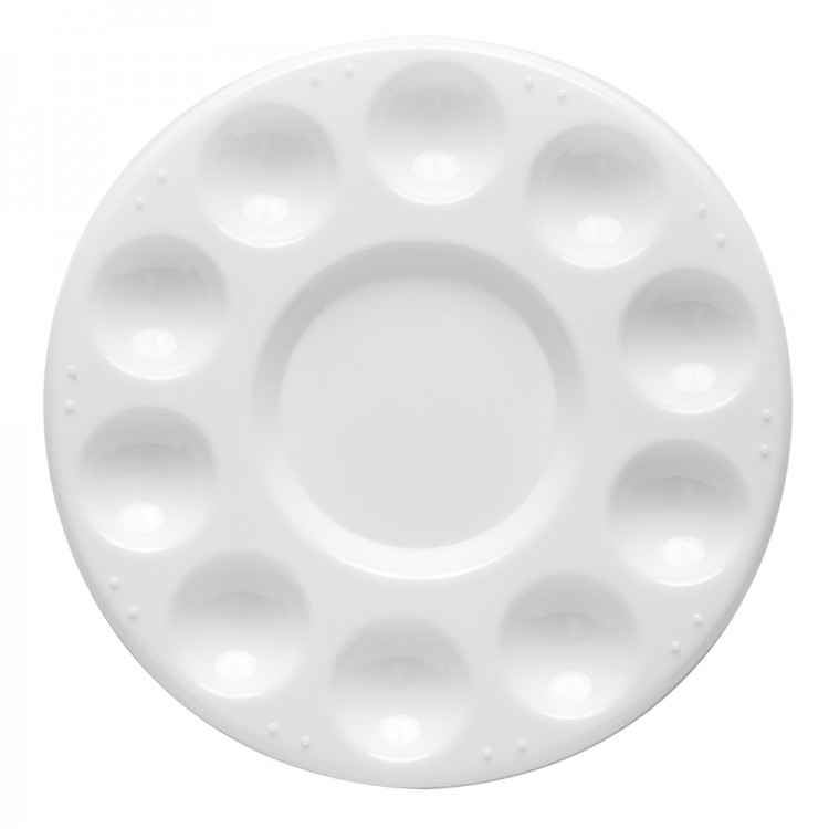 JAS : Plastic Palette : 11 Well Circular 7 in. Diameter