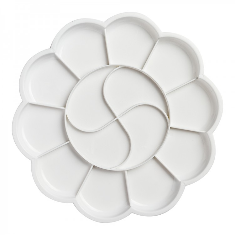 JAS : Plastic Palette : Daisy 14 well 20cm diameter