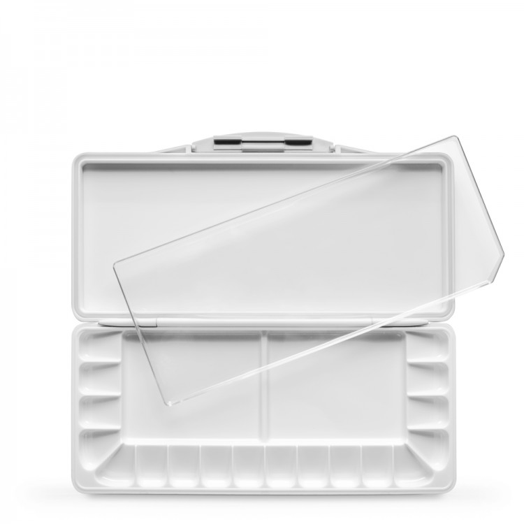 Studio Essentials : Watertight Folding Plastic Palette : 18 Well