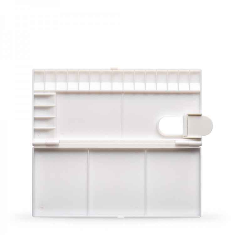 JAS : Small Folding Plastic Palette : 12x25cm