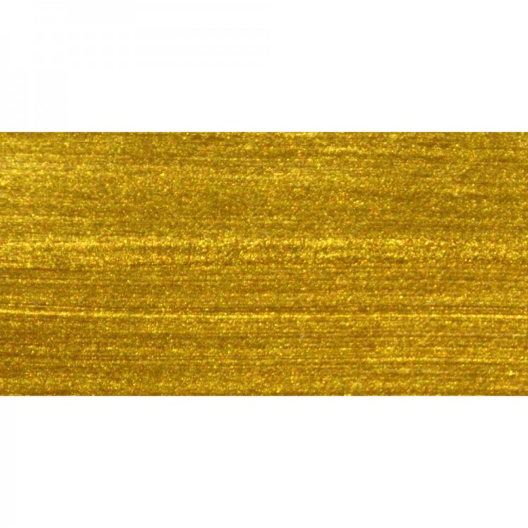 Roberson : Liquid Metal : Acrylic : 30ml : Yellow Gold
