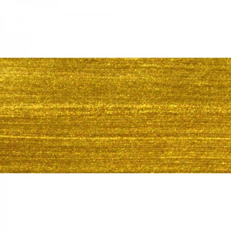 Roberson : Liquid Metal : Acrylic : 30ml : Yellow Gold