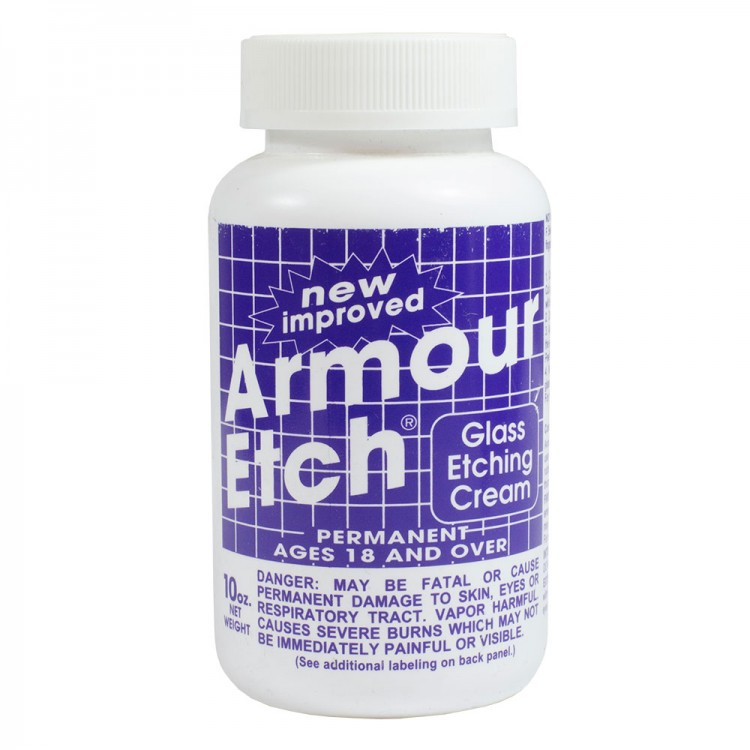Armour Etch : Glass Etching Cream : 10oz/283g : By Road Parcel Only