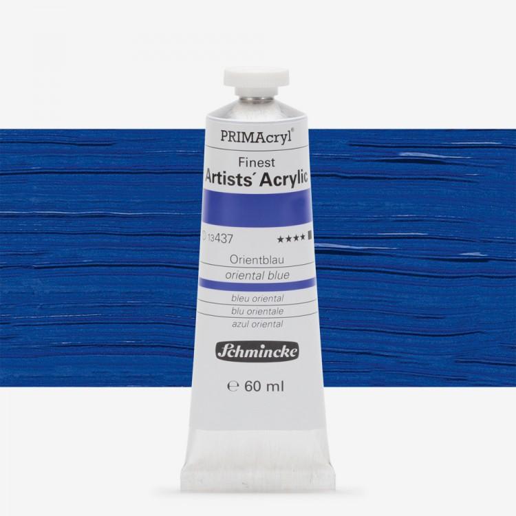 Schmincke : Primacryl Acrylic Paint : 60ml : Oriental Blue