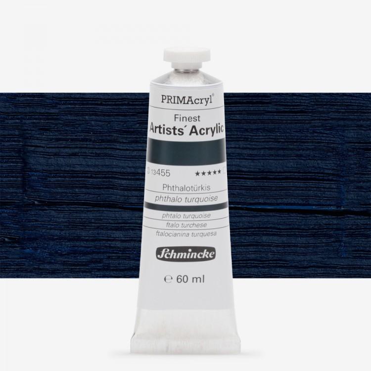 Schmincke : Primacryl Acrylic Paint : 60ml : Phthalo Turquoise