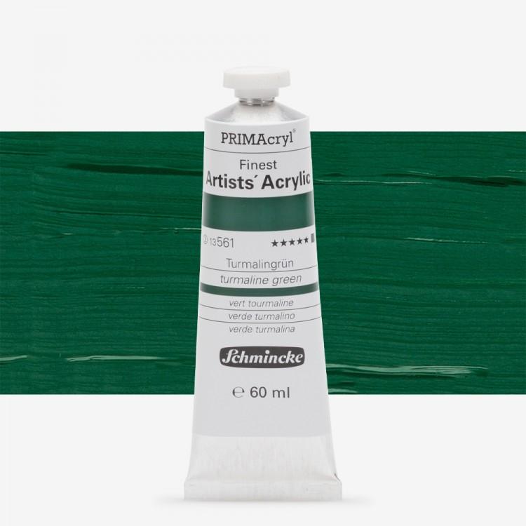 Schmincke : Primacryl Acrylic Paint : 60ml : Turmaline Green