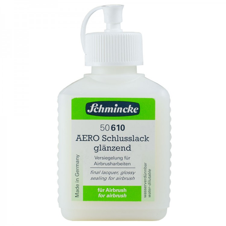 Schmincke : Aero Final Lacquer Varnish : 125ml : Gloss