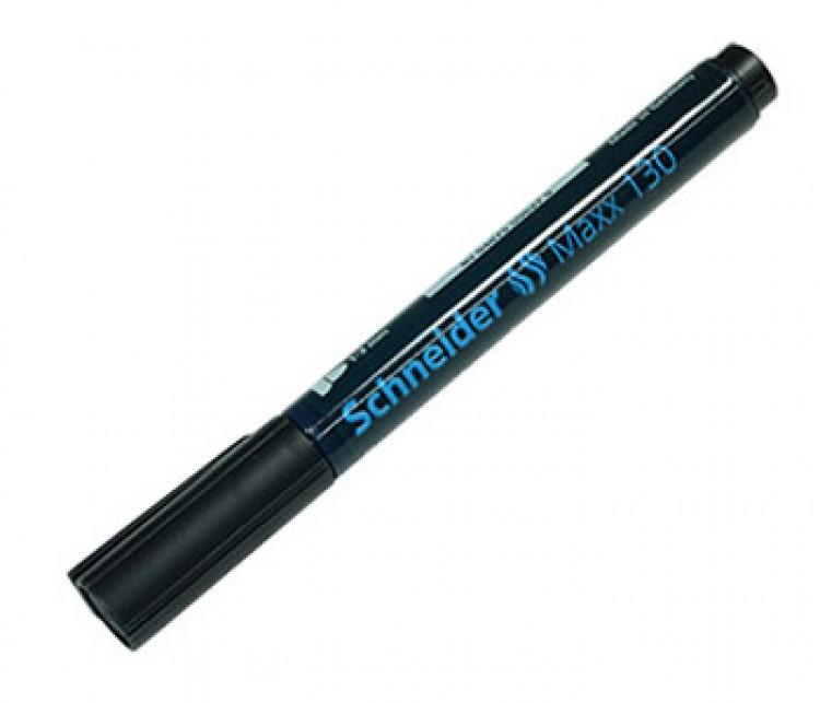 Schneider : Maxx 130 Permanent Marker : Bullet Tip : Black