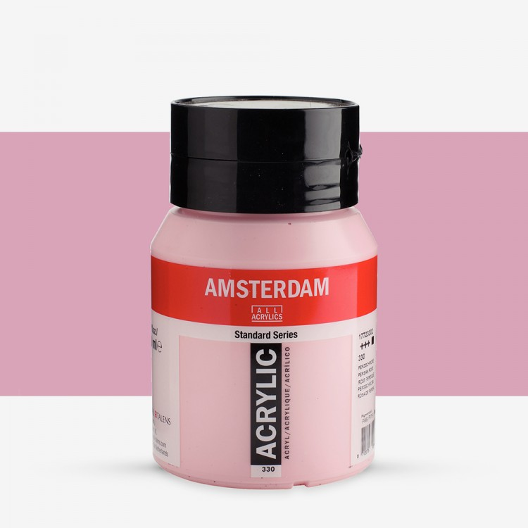 Talens : Amsterdam Standard : Acrylic Paint : 500ml : Persian Rose