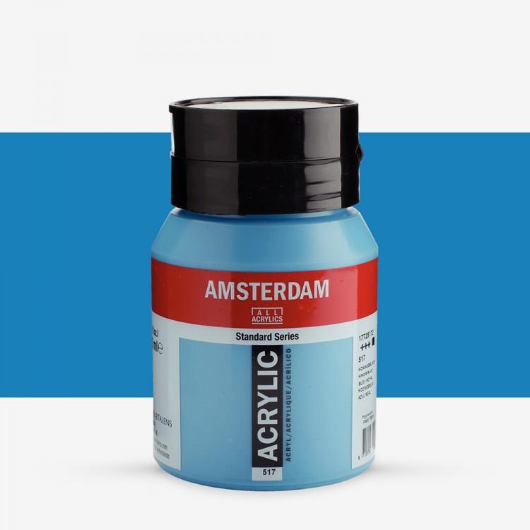 Talens : Amsterdam Standard : Acrylic Paint : 500ml : Kings Blue