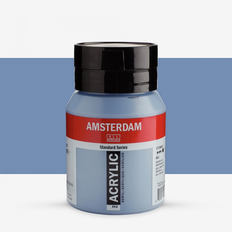 Talens : Amsterdam Acrylic 500ml bottle GREYISH BLUE