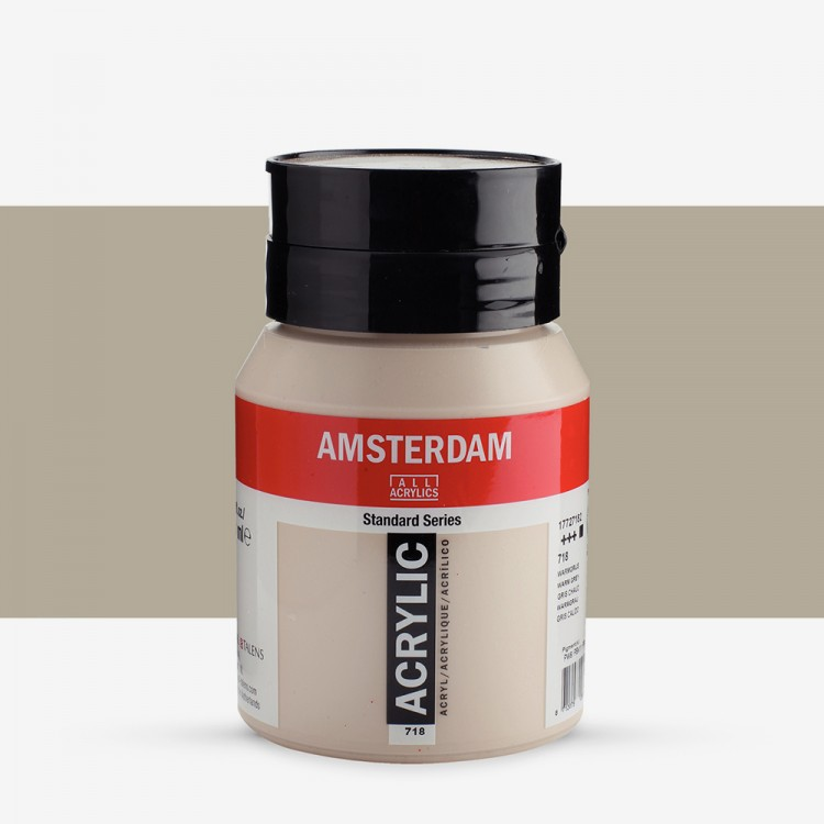 Talens : Amsterdam Standard : Acrylic Paint : 500ml : Warm Grey