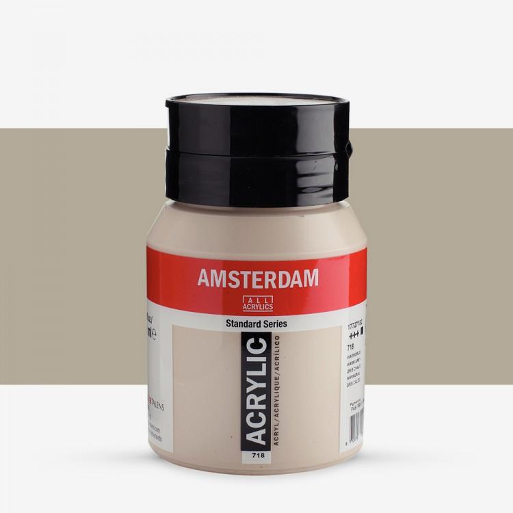 Talens : Amsterdam Standard : Acrylic Paint : 500ml : Warm Grey