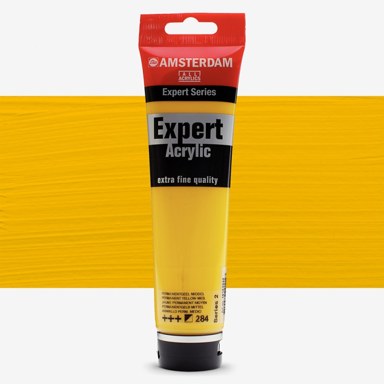 Talens : Amsterdam Expert Acrylic 150ml series 2 Permanent Yellow medium