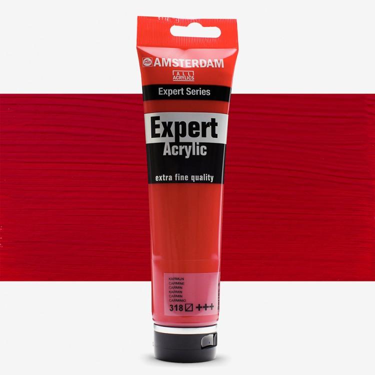 Talens : Amsterdam Expert Acrylic 150ml series 3 Carmine